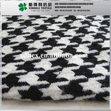 The world popular woven twill 100% acrylic houndstooth fashion fabric