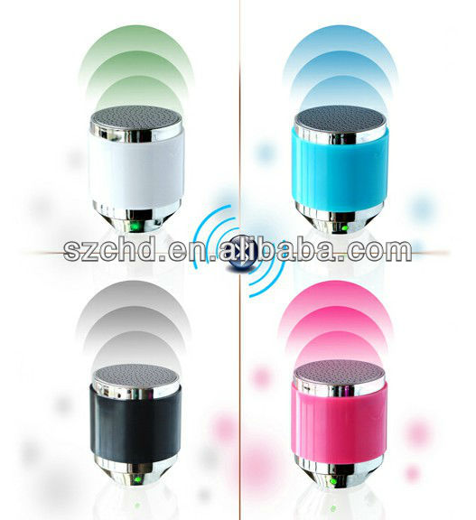 promotional wireless bluetooth cylindrical speaker
