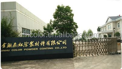 aluminium Brown coated TGIC FREE epoxy polyester powder coating
