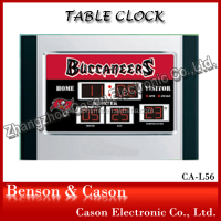 LED Intellgent Desk /Table Clock