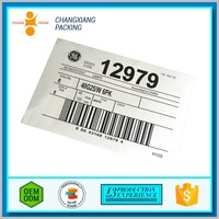 Custom Printing Health Product Barcode Label Printing Scales Self Destructive Security Sticker Paper With Price