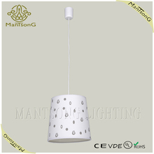 hot sale modern home decor decorative plastic pendant light