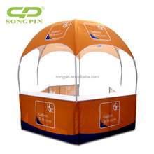 Factorty price 5 person for outdoor event use big round dome tent, custom printing dome