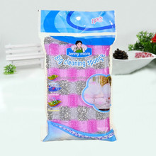 Scrub sponge kitchen scouring pad made in china