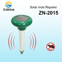 Zolition 2016 new mole poison/solar powered ultrasonic mole repellent/mice rat poison ZN-2015