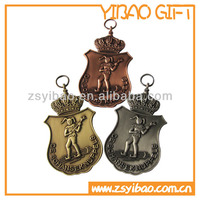 3D die casting plate antique medal for celebration