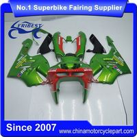 FFKKA029 Motorcycle Fairing For ZX9R ZX 9R 1994-1997 Green And Red