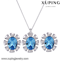 64450 Xuping Wholesale Fashion Rhodium Color