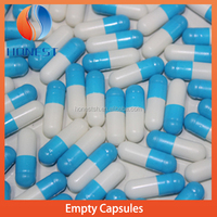 Empty vegetable clear/colored capsules ,plant capsules