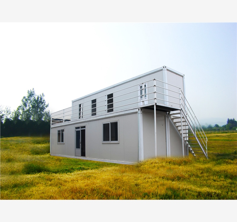 China transport install practical 40' container house complete