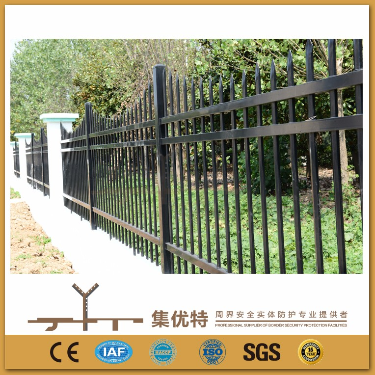 New style used to factory galvanized and PVC coated solid metal fence panel