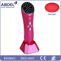 Anti-aging Rechargeable Induction Red Led Light Therapy for Fine Lines & Wrinkles 660nm