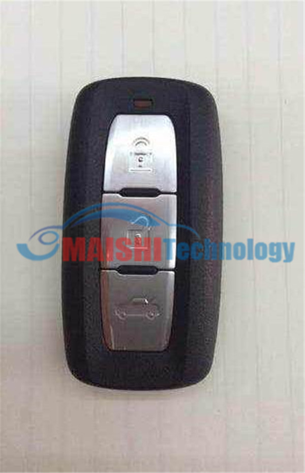 MS original newest 3 burron smart card remote key 433mhz for mitsublish colt plus(with logo)