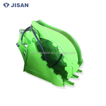 PC120 PC150 excavator hydraulic grab bucket