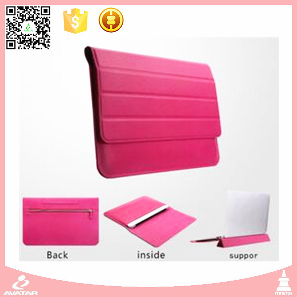 PU leather,11/12 inch laptop tablet bag /laptop sleeve