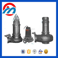 Durable centrifugal horizontal sewage pump, submersible sewage slurry pump