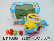 plastic toy electronic lobster w/music&light