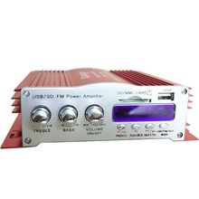 2 Channel USB SD FM car audio amplifier