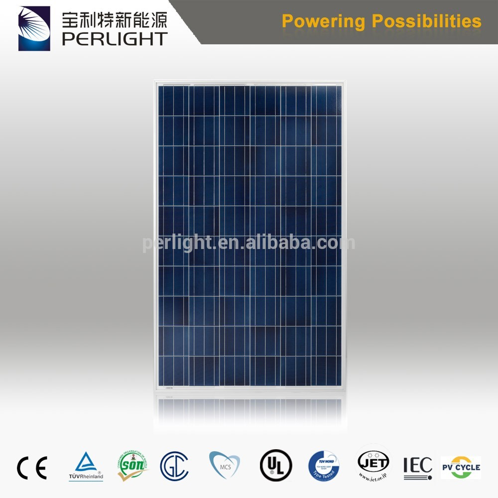 2017 most popular yingli solar panel yl260p-29b with best quality and low price