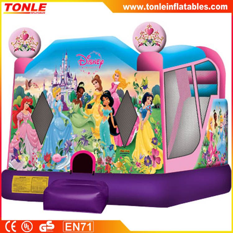 Snowwhite Inflatable Castle, Princess Inflatable Bouncer Slide Combo for kids, Inflatable Jumping House for sale