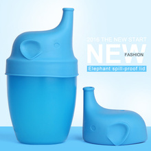 New design elephant shape spill-proof cup cover