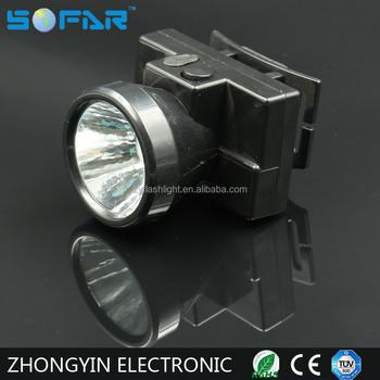 Yiwu 1watt Waterproof Rechargeable Headlamp Led Flashlight Torch ...