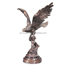 Outdoor large bronze eagle statues for sale