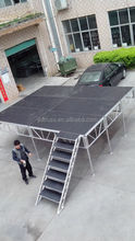 aluminum mobile plywood portable stage portable stage
