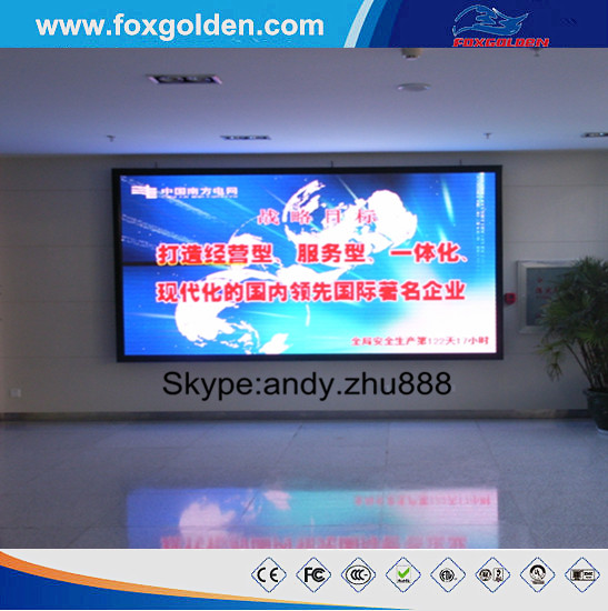 Best quality High definition Amazing performance!Full color SMD advertising P6 indoor LED screen