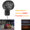 warehouse safety area warning Laser Forklift Red Zone Danger Area Warning Lamp mini led forklift blue light