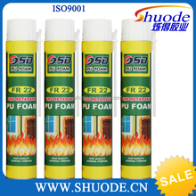 High grade filling and sealing holes outstanding flexible construction foam sealant