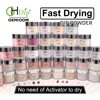 custom private label 2oz Acrylic dip powder nail system with dipping liquid nail glue