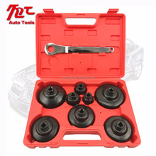9PC Comprehensive Cap Oil Filter Wrench Set Installing Pick Up Tool Kit/Remover Hand Tool Set/Automotive Repair