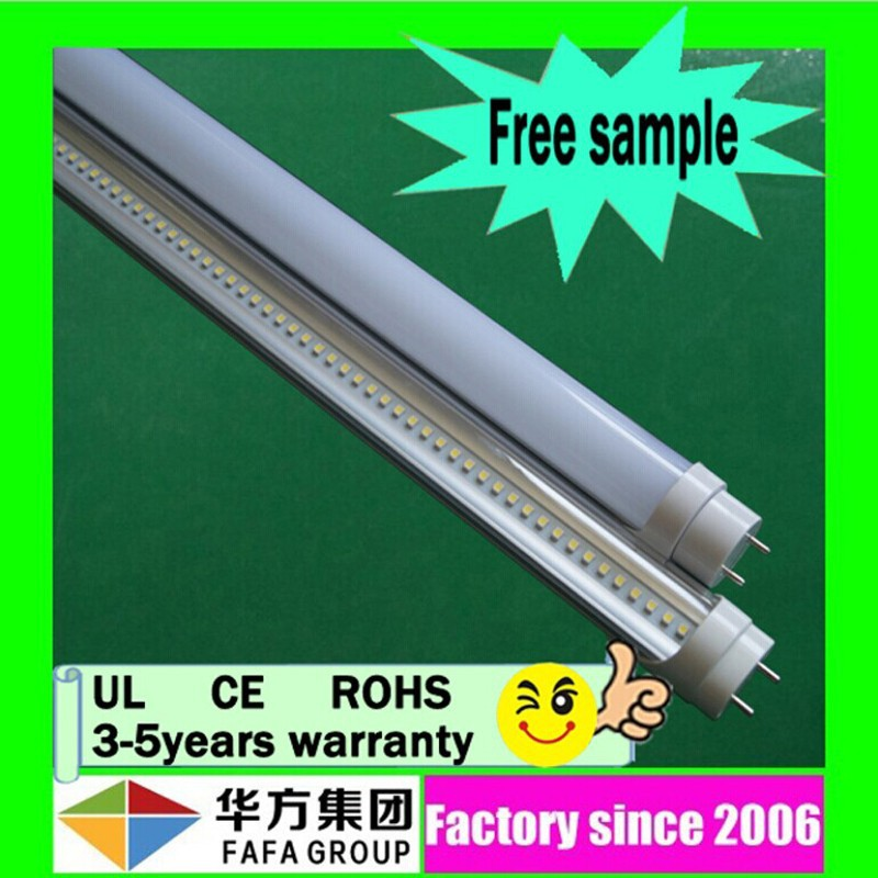 UL CE&Rohs 18w high lumen t8 led tube new product solar korea free tube8 led light
