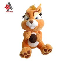 Squirrels with nuts plush , forest anmial plush toys customized