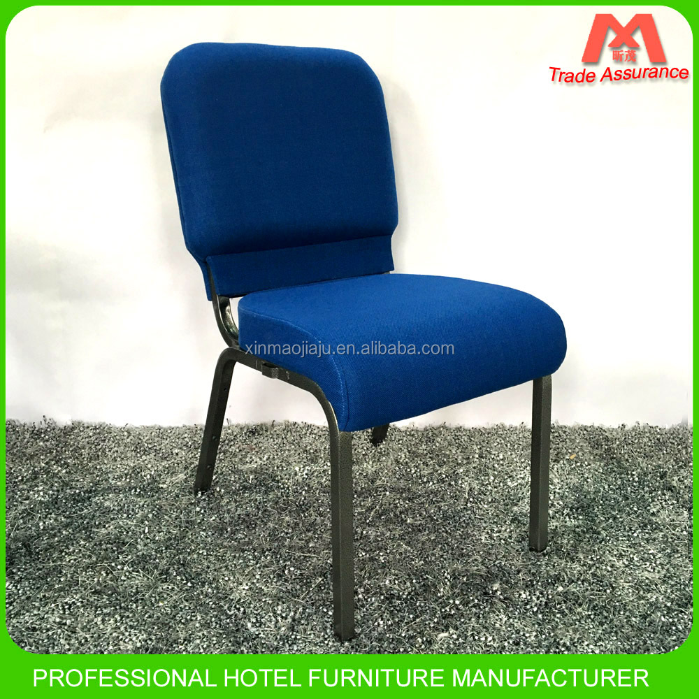 Stackable Metal Church Theater Chairs Used