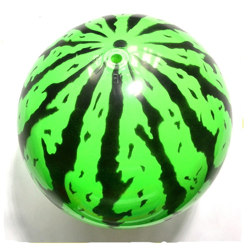 custom size pvc watermelom inflatable beach ball