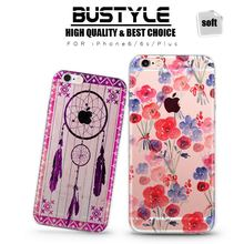 Wholesale A+ Quality Soft TPU Mobile Phone Case For Apple iPhone 4 5s 5c 6 6s plus