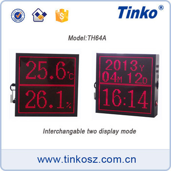 Digital dot matrix led,large screen temperature humidity display monitor