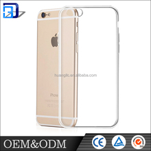 Promotion ! useful ultra clear Transparent tpu mobile cell phone case for iphone 6 / 6s