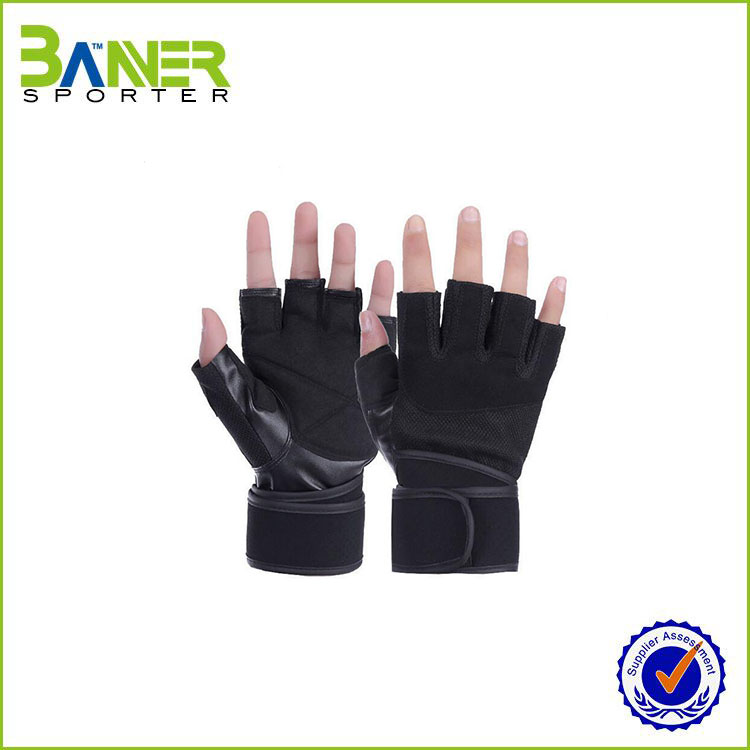 sports weight lifting half finger custom gym gloves,hand gloves making machine