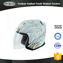 Open face helmets motorbike cheap DOT approved motorcycle helmet adult