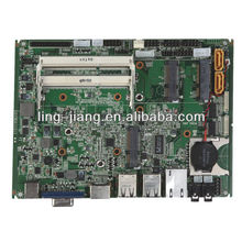 embedded 9-30V power supply fanless industrial motherboard (pcm3-d2550)