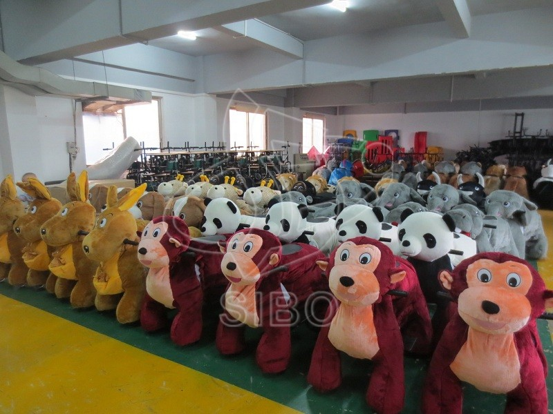GM5982 Newest Design Plush Riding Animal/Furry Animal Rides Made In China