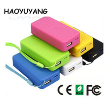 5200mAh Smart Power Bank 18650 Battery Wholesale Outdoor Mobile Phone Charger