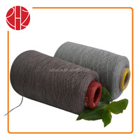 34S/2 65 polyester 35 combed nature cotton cheap price for knitting yarn