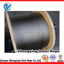 Round Shape and Carbon steel Material Elevator marking belt 6*19+IWRC