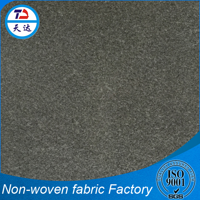 Reputable Manufacturer Needle-Punched Car Hood Cover Fabric PU Leather Material