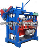 2013 Promoted Hongying QMJ4-35A hand operated fly ash brick making machine