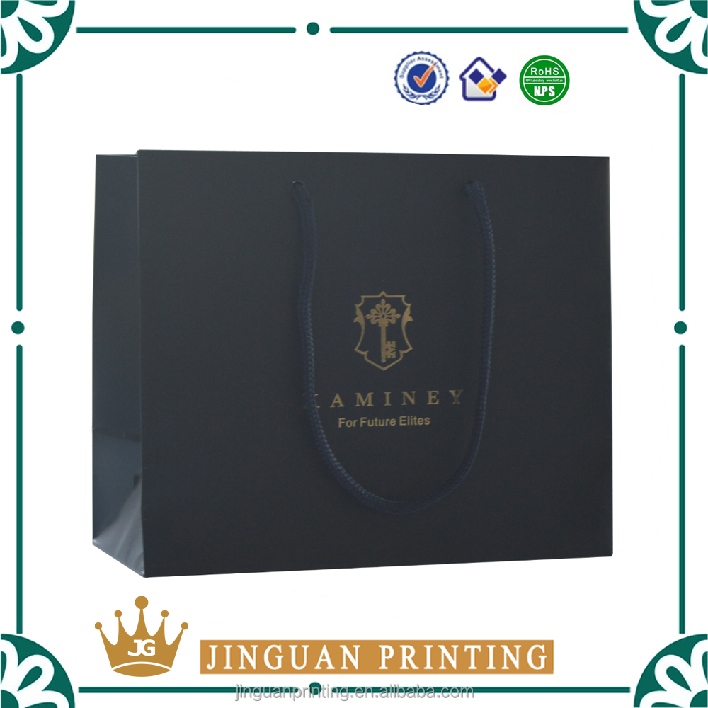 High quality custom printing luxury shopping packaging extra large paper bags